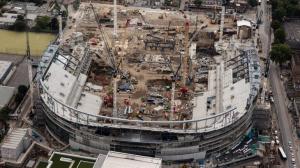 Строительство нового стадиона (03.08.17)