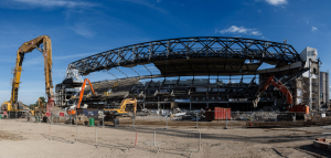Строительство нового стадиона (06.07.2017)