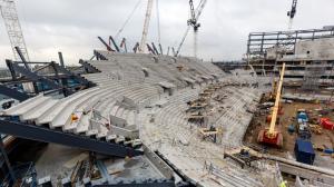 Строительство нового стадиона