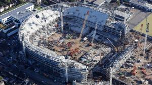 Строительство нового стадиона (11.10.17)