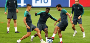 Тренировка в Милане