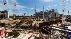 Строительство нового стадиона (27.06.17)
