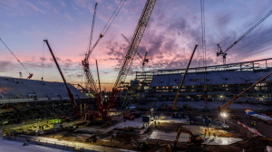 Строительство нового стадиона (31.10.17)