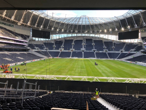 Внутренние помещения нового стадиона