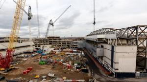 Ход строительства нового стадиона