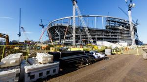 Новые фотографии стадиона Шпор