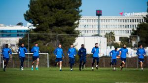 Первый тренировочный день в Барселоне [15.01.2018]
