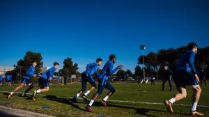 Второй тренировочный день в Барселоне [16.01.2018]