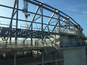 Тренировка Тоттенхэма и стройка стадиона