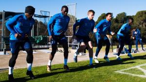 Третий тренировочный день в Барселоне