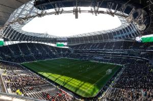 Первый матч на новом стадионе