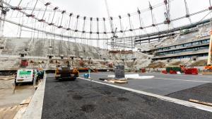 Новый стадион за полгода до открытия