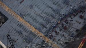 Новый стадион с высоты птичьего полета