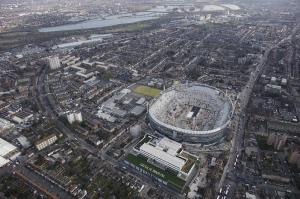 Фотографии стадиона с высоты птичьего полета