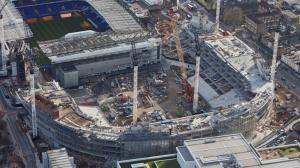 Стройка нового стадиона с высоты птичьего полёта