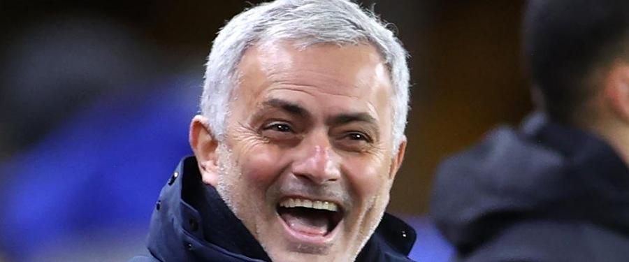 mourinho laugh